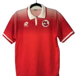 SWITZERLAND 1996/1998 HOME SHIRT