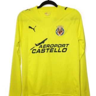 VILLARREAL 2009/2010 HOME SHIRT [L/S]