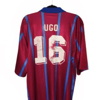 ASTON VILLA 1993/1995 HOME SHIRT #16 UGO