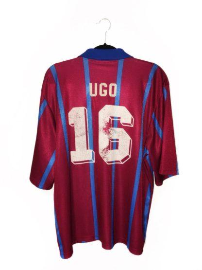 ASTON VILLA 1993/1995 HOME SHIRT #16 UGO