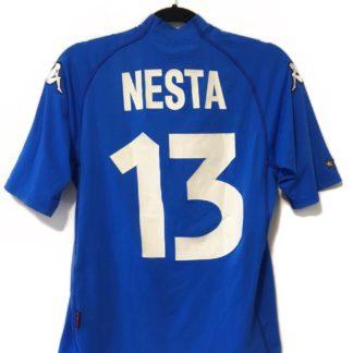 ITALY 2000/2002 HOME SHIRT #13 NESTA