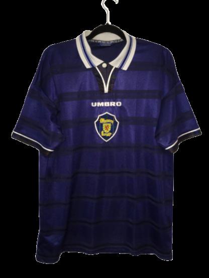 SCOTLAND 1998/2000 HOME SHIRT