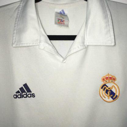REAL MADRID 2001/2002 HOME SHIRT #10 FIGO