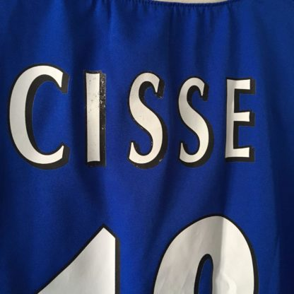 PORTSMOUTH 2003/2005 HOME SHIRT #18 CISSE