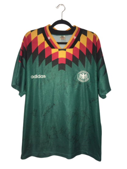 GERMANY 1994/96 AWAY SHIRT [SIGNED]