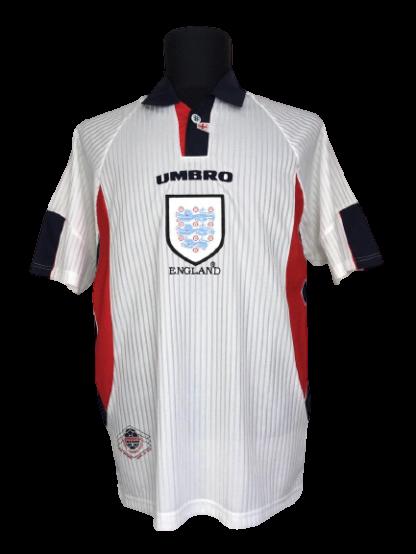 ENGLAND 1997/1999 HOME SHIRT