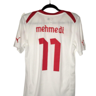 SWITZERLAND 2011/2013 AWAY SHIRT #11 MEHMEDI