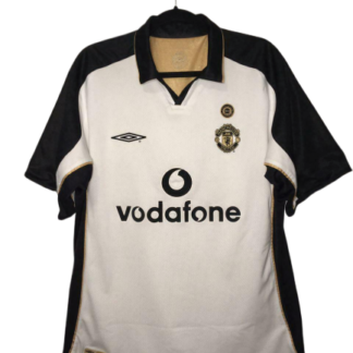 MANCHESTER UNITED 2001/2002 CENTENARY AWAY SHIRT