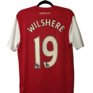 ARSENAL 2011/2012 HOME SHIRT #19 WILSHERE