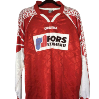 FC BIEL-BIENNE 1996/1997 HOME SHIRT [MATCH WORN] [L/S]