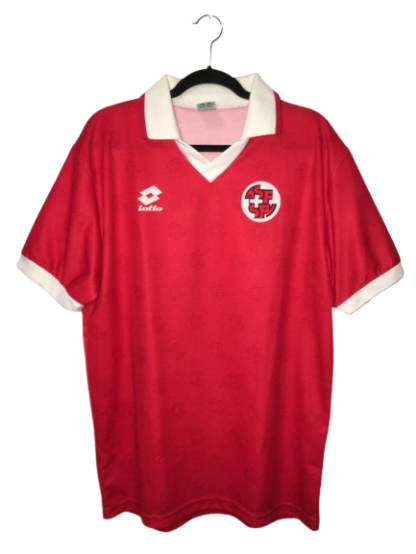SWITZERLAND 1994/1996 HOME SHIRT [XL]