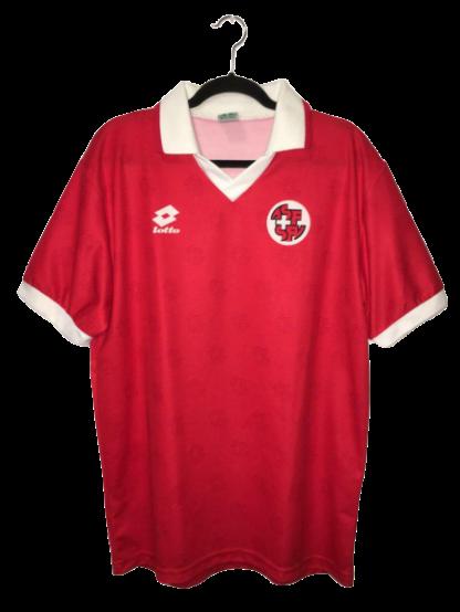 SWITZERLAND 1994/1996 HOME SHIRT [XL]