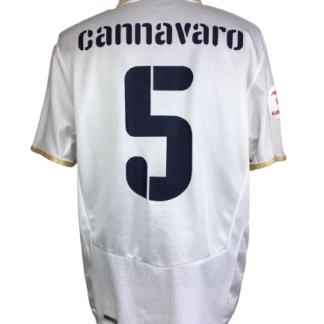 ITALY 2008/2010 AWAY SHIRT #5 CANNAVARO