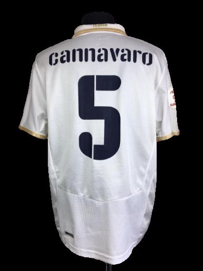 ITALY 2008/2010 AWAY SHIRT #5 CANNAVARO