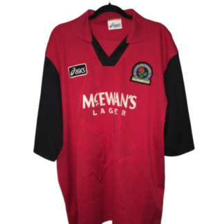 BLACKBURN ROVERS 1995/1996 AWAY SHIRT