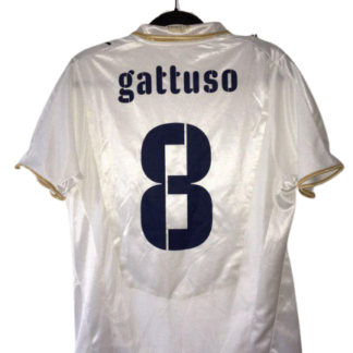 ITALY 2007/2008 AWAY SHIRT #8 GATTUSO