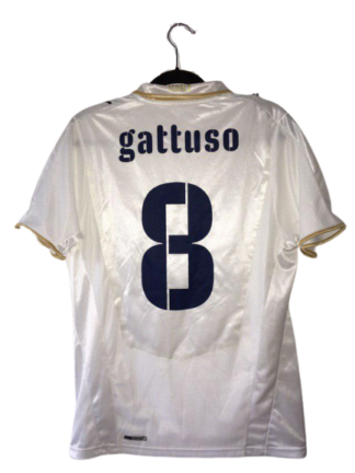 ITALY 2008/2010 AWAY SHIRT #8 GATTUSO