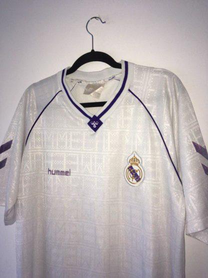 REAL MADRID 1990/1992 HOME SHIRT