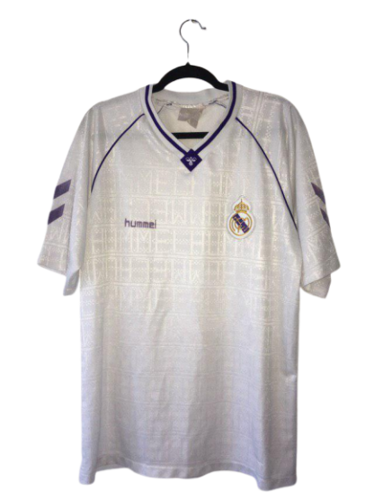REAL MADRID 1990/1992 HOME SHIRT