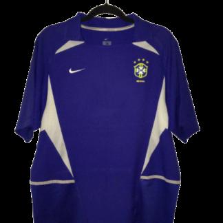 BRAZIL 2002/2004 AWAY SHIRT