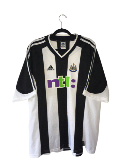 NEWCASTLE UNITED 2001/2003 HOME SHIRT