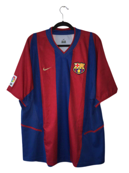 BARCELONA 2002/2003 HOME SHIRT
