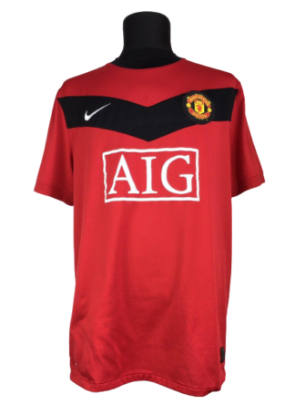 MANCHESTER UNITED 2009/2010 HOME SHIRT
