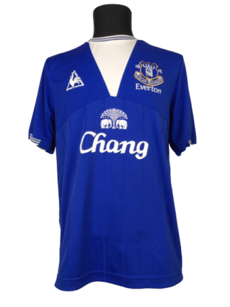 EVERTON 2009/2010 HOME SHIRT