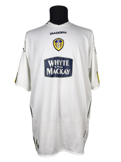 LEEDS UNITED 2004/2005 HOME SHIRT