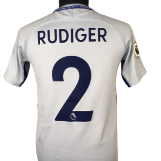 CHELSEA 2017/2018 AWAY SHIRT #2 RUDIGER