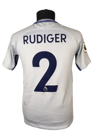 CHELSEA 2017/2018 AWAY SHIRT #2 RUDIGER [YOUTHS]