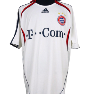 BAYERN MUNICH 2006/2007 AWAY SHIRT [XL]