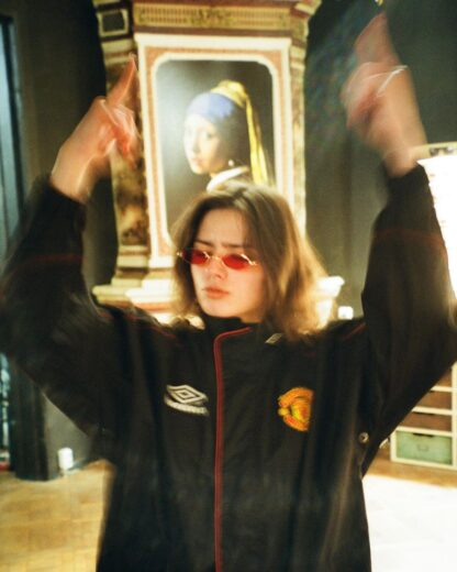 MANCHESTER UNITED 1998/1999 DRILL JACKET