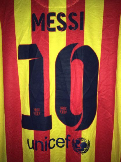 BARCELONA 2013/2014 AWAY SHIRT #10 MESSI