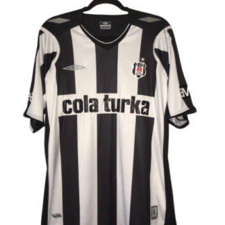 BESIKTAS 2007/2008 HOME FOOTBALL SHIRT by UMBRO