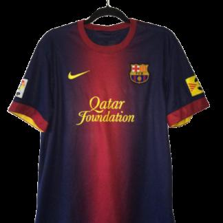 BARCELONA 2012/2013 HOME FOOTBALL SHIRT CAMISETA FUTBOL SOCCER JERSEY NIKE