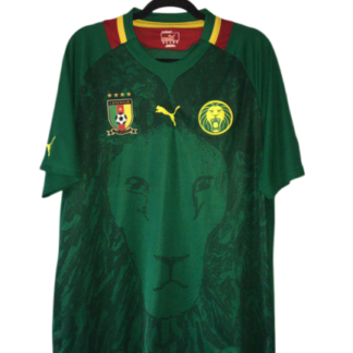 CAMEROON 2012/2013 HOME FOOTBALL SHIRT