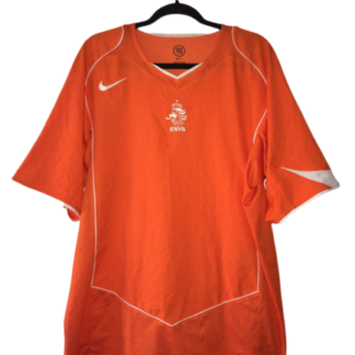 NETHERLANDS 2004/2006 HOME FOOTBALL SHIRT