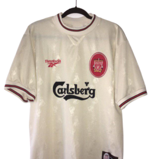 LIVERPOOL 1996/1997 AWAY FOOTBALL SHIRT