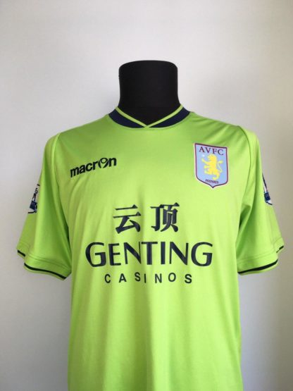 ASTON VILLA 2012/2013 AWAY SHIRT #7 IRELAND