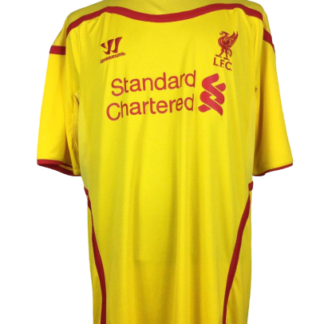 LIVERPOOL 2014/2015 AWAY SHIRT [XXL]