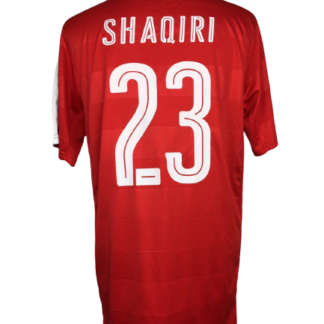 SWITZERLAND 2016/2017 HOME SHIRT #23 SHAQIRI