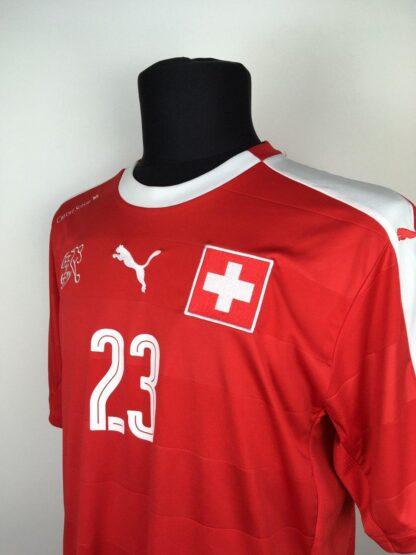 SWITZERLAND 2016/2017 HOME SHIRT #23 SHAQIRI