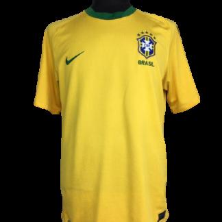 BRAZIL 2010/2011 HOME SHIRT