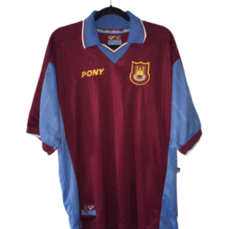 WEST HAM 1997/1998 HOME SHIRT