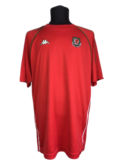 WALES 2004/2005 TRAINING SHIRT [BNWT]
