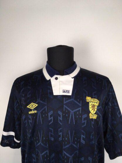 SCOTLAND 1991/1994 HOME SHIRT