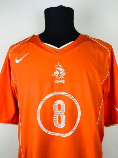 NETHERLANDS 2004/2006 HOME SHIRT #8 DAVIDS