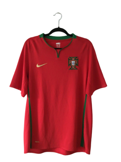 PORTUGAL 2008/2010 HOME SHIRT
