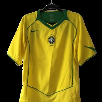 BRAZIL 2004/2006 HOME SHIRT